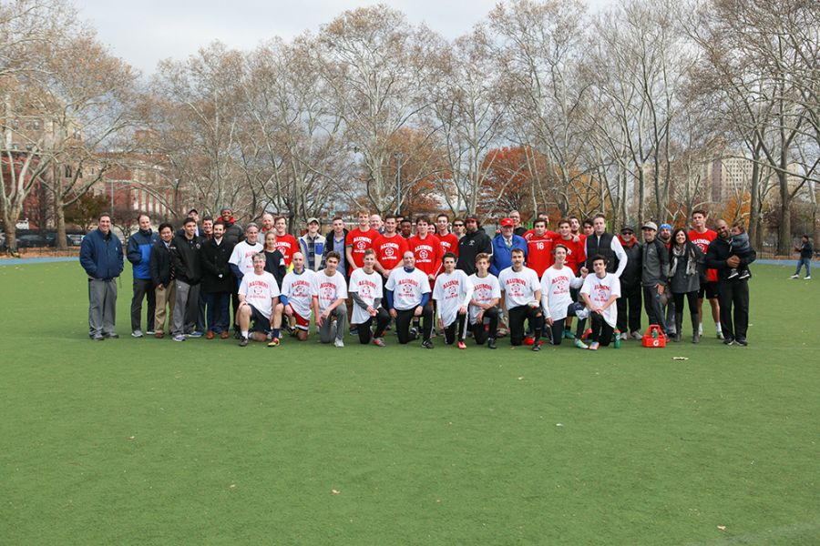 20171122Alumni/Faculty Lunch and Soccer Game