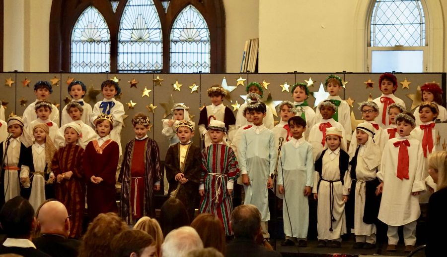 20171220 First Grade Christmas Pageant