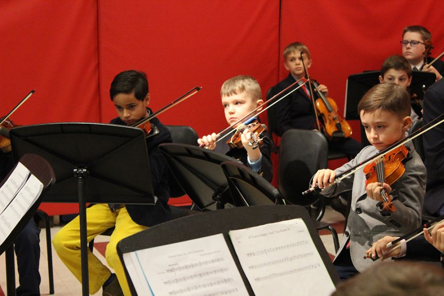 2018117 First Orchestra and Ensemble Concert for Lower School