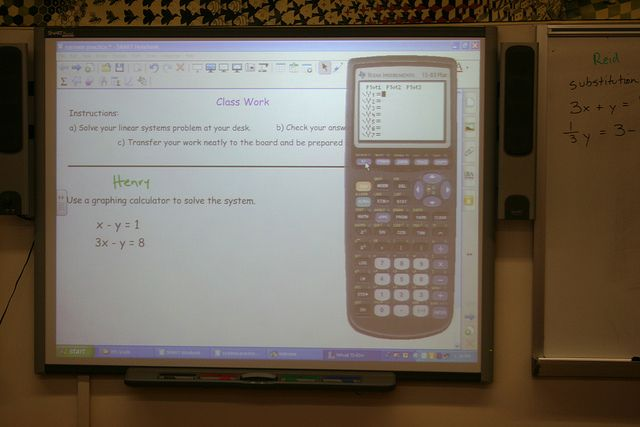 Linear Systems Problems in Grade Eight