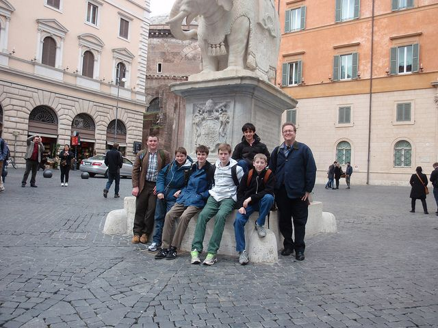 Eighth Grade in Italy