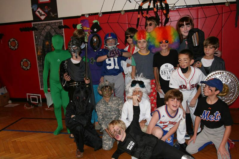 20131028 Grades 5 and 3 Halloween