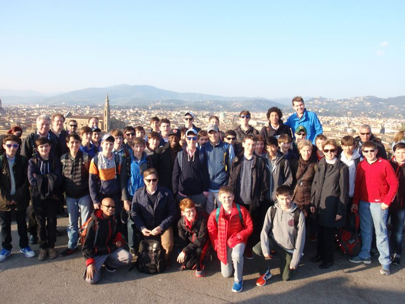 20140310 Grade 8 Italy, Assisi and Florence
