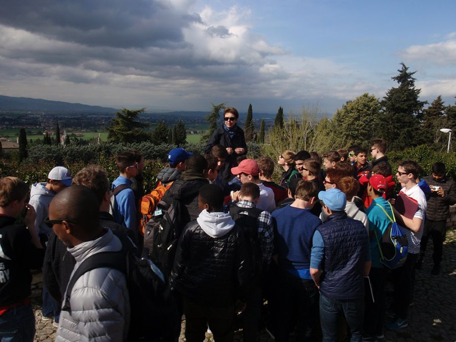 20160314 Assisi and Florence, Grade 8 2016