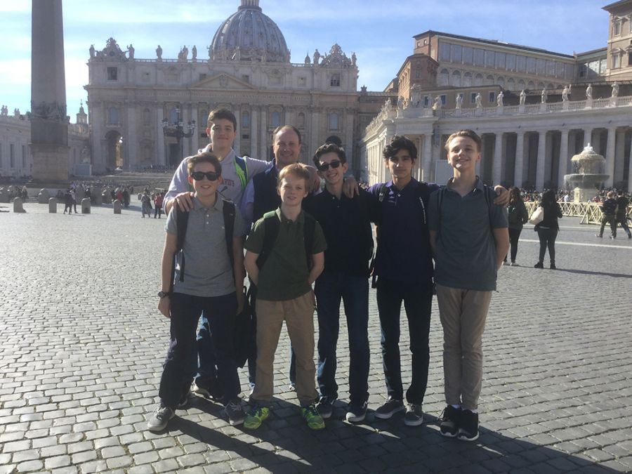 20170310 Italian Study Tour - Rome Thurs and Friday