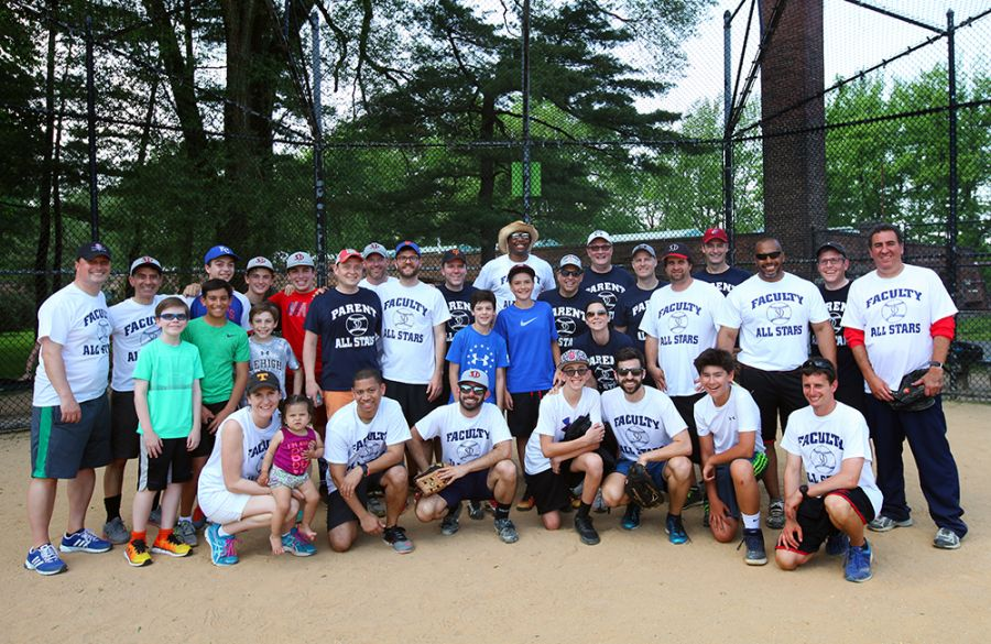 20170519 Parents vs Faculty Softball Game