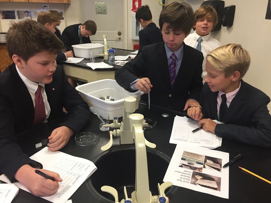 2017091517 Grade 6 Mineral and Rock Testing