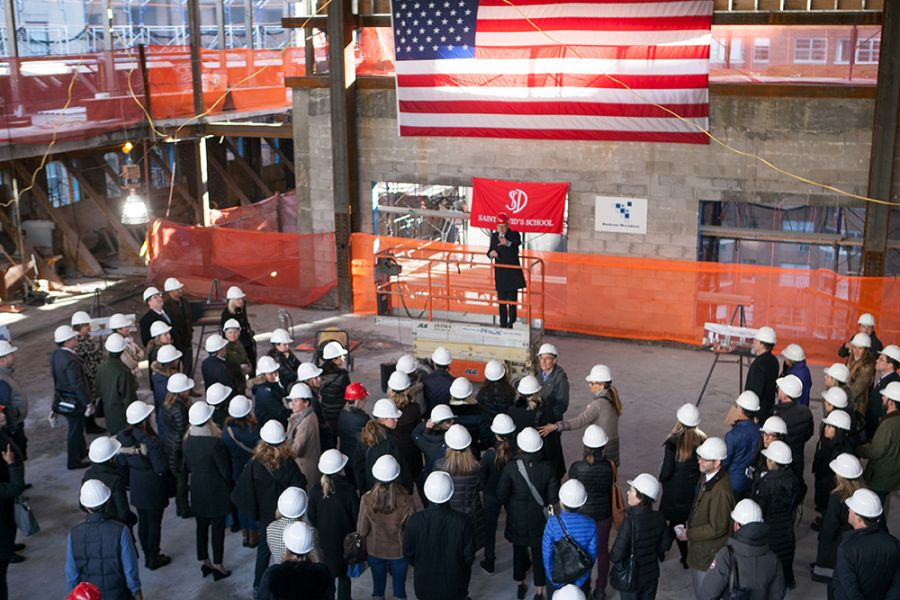 20171208 Topping Off Tour and Ceremony