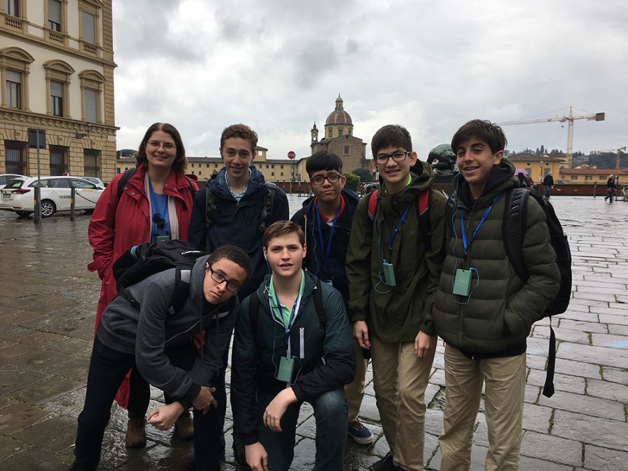 20180314 Grade 8 in Florence