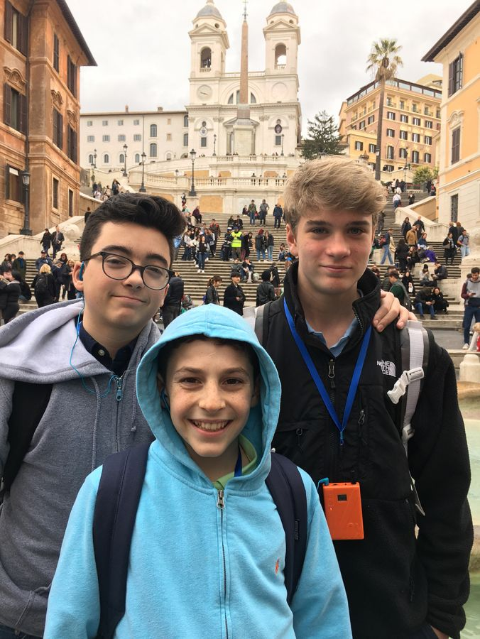 20190305 Grade 8 in Rome Days 1 and 2