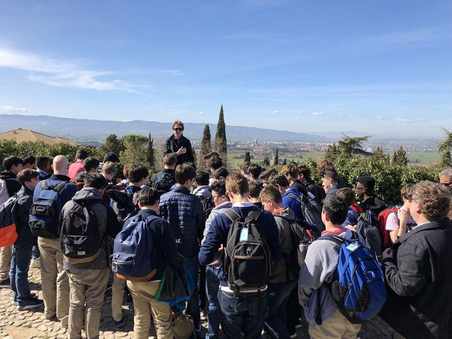 20190310 Grade 8 in Assisi and Florence