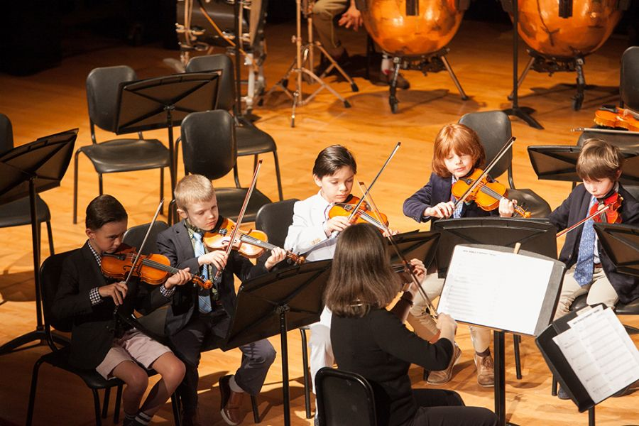 20190430 FIrst Orchestra and Ensemble Performance for Lower School