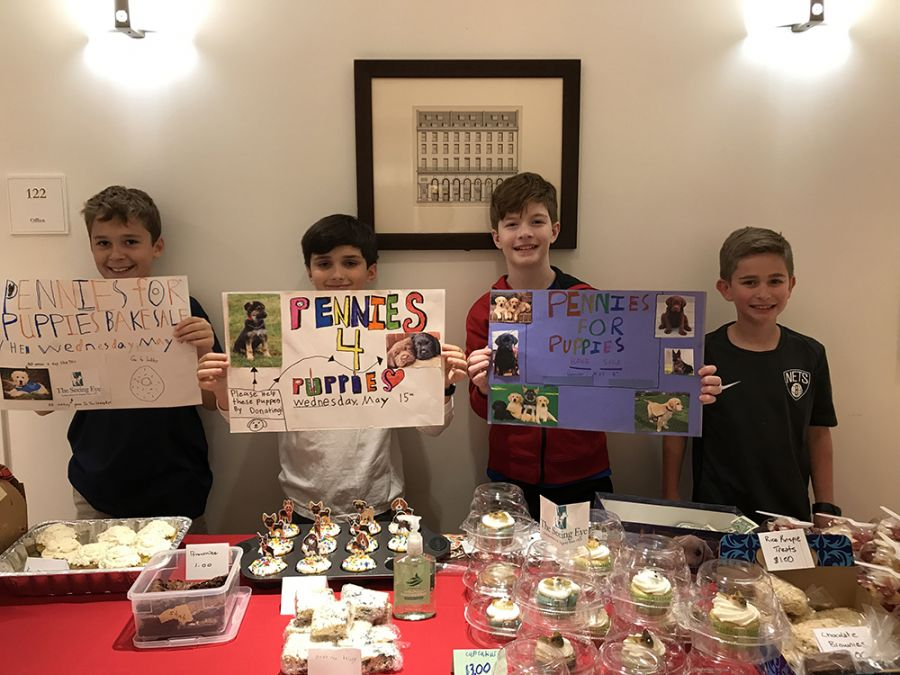 20190515 Grade 4 Pennies for Puppies