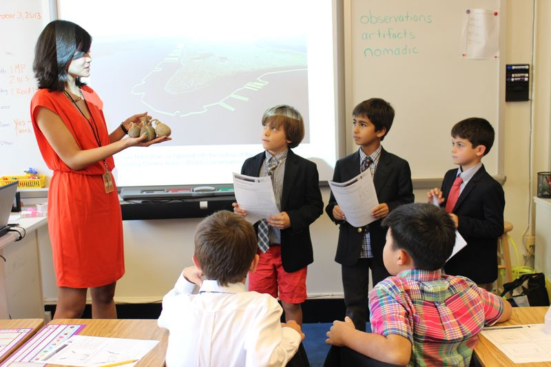 20131003 - Grade 2 Learns About Early New York in N-YHS Partnership