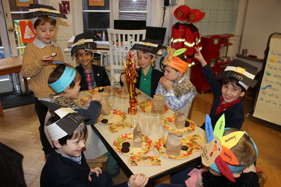 20161122 Pre-K and Omega Thanksgiving Feast