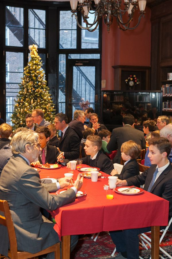 20161209 Alumni and Sons Christmas Breaksfast