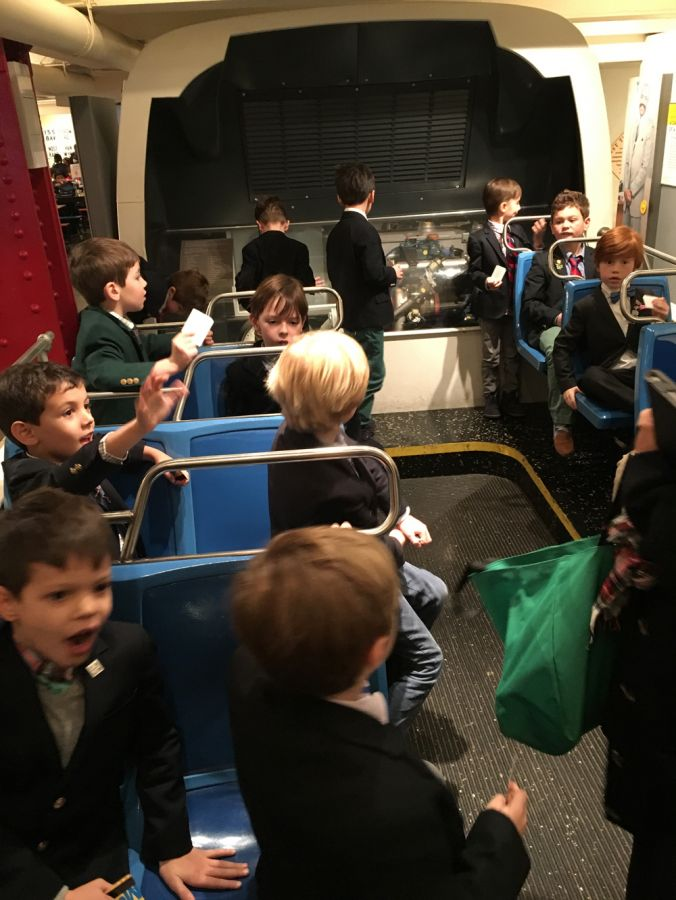 20170113 Grade One Field Trip to Transit Museum